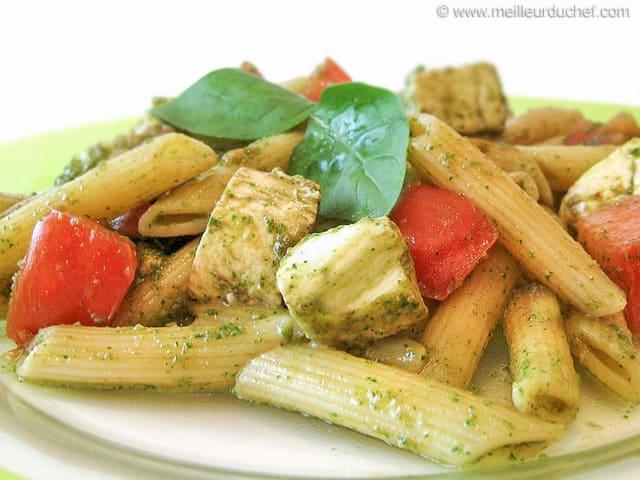 salade de pâtes tomates mozzarella notre recette illustrée