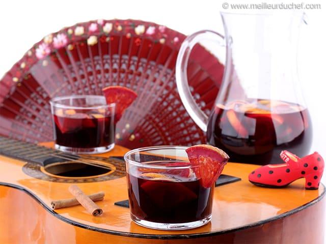 Quel vin rouge utilise pour la sangria - Quel vin rouge pour cuisiner ...