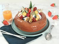 Savarin chantilly aux fruits