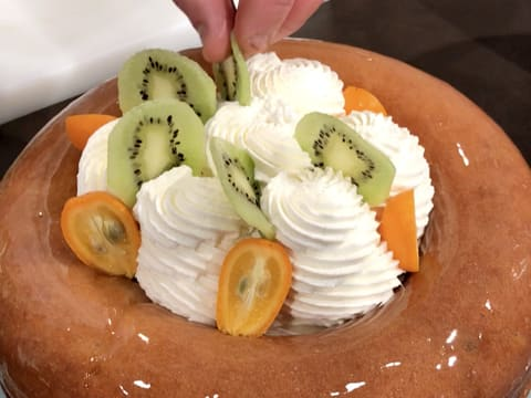 Savarin chantilly aux fruits - 52