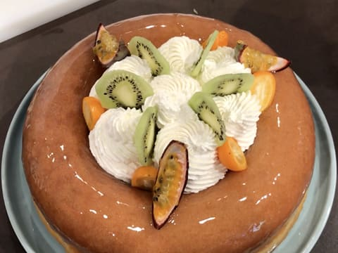 Savarin chantilly aux fruits - 54