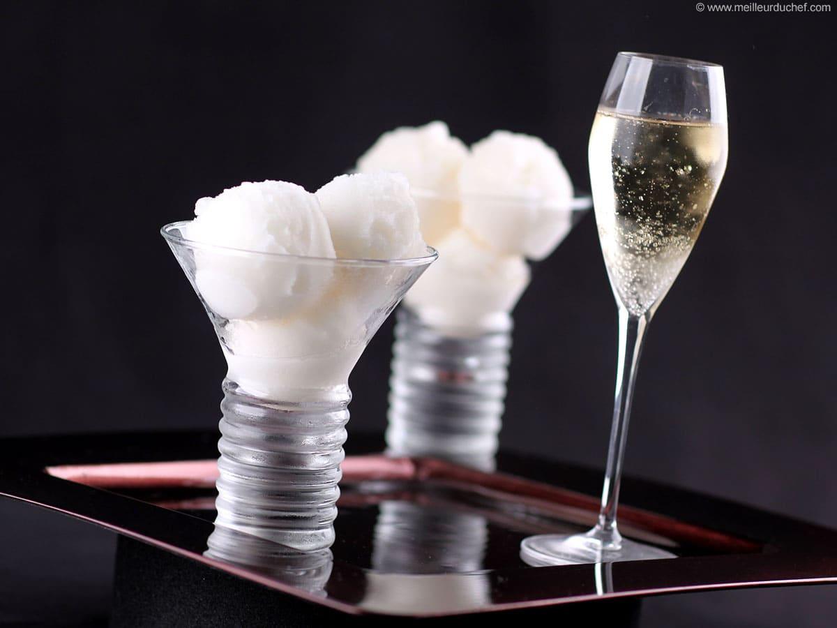 Quels gateaux avec champagne
