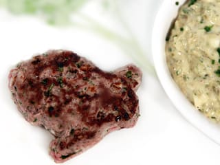 Steak haché, sauce tartare