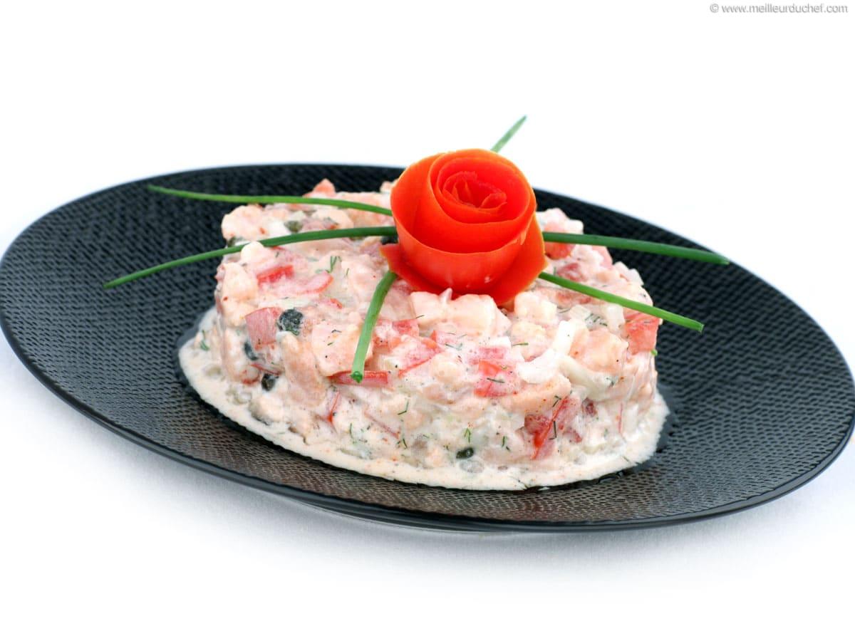 Tartare De Saumon Recette De Cuisine Avec Photos Meilleur Du Chef