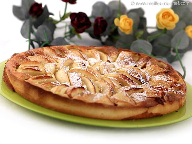 tarte aux pommes alsacienne recette de cuisine avec photos. Black Bedroom Furniture Sets. Home Design Ideas