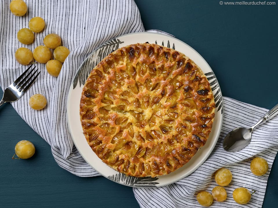 Tarte aux mirabelles - Fiche recette avec photos - Meilleur du Chef