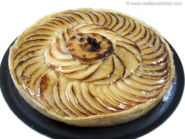 Comment r aliser une belle tarte aux pommes - Recette tarte au pomme normande ...