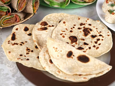 Tortillas de blé souples - 23