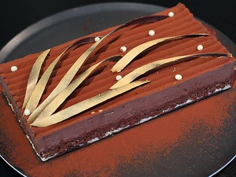 trianon au chocolat - fiche recette illustrée - meilleurduchef