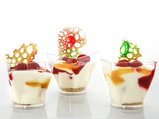 Verrine bavaroise aux fruits
