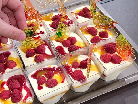 Verrine bavaroise aux fruits - 49