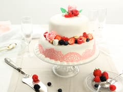 Wedding cake vanille/framboise