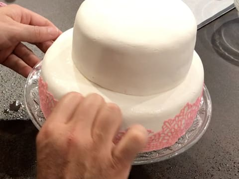 Wedding cake vanille/framboise - 135