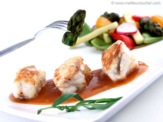 Recettes de poissons fiches recettes for Entree sans poisson