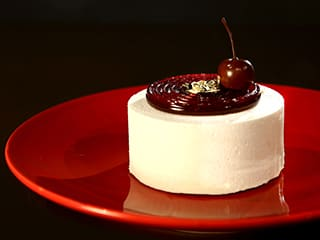 Almond & Morello Cherry Entremets