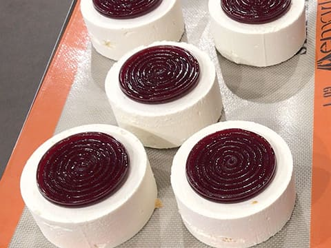 Almond & Morello Cherry Entremets - 50