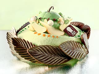 Apple Bavarian Entremets