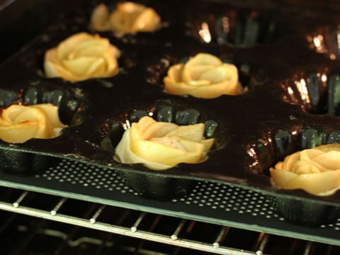 Puff Pastry Apple Roses - 27