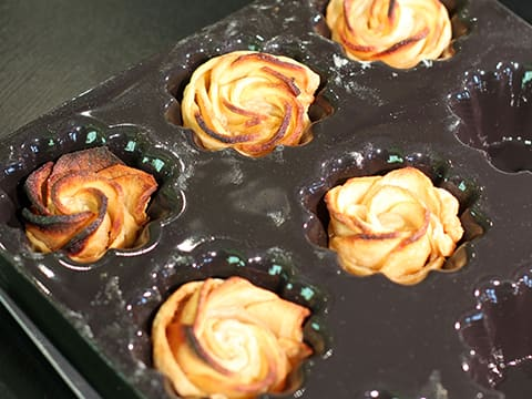 Puff Pastry Apple Roses - 28
