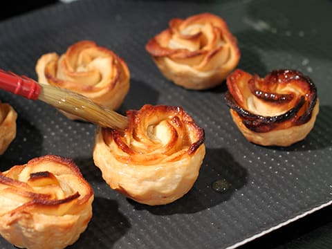 Puff Pastry Apple Roses - 31