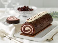 Black Forest Cake Roll