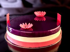 Blueberry Mousse Entremets