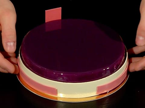 Blueberry Mousse Entremets - 120
