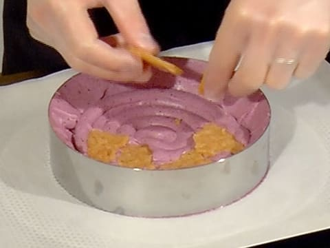 Blueberry Mousse Entremets - 79