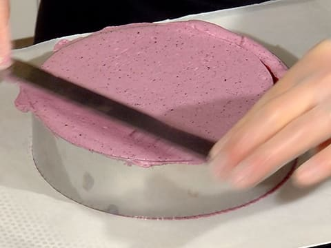 Blueberry Mousse Entremets - 84
