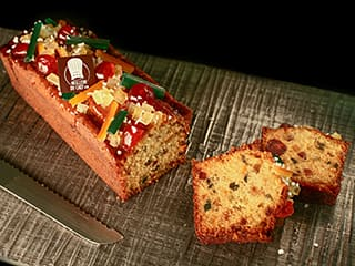Candied Fruit Loaf Cake