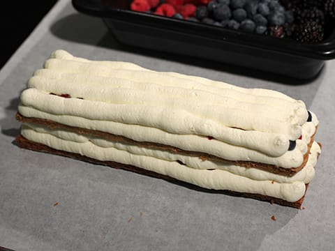 Chantilly Millefeuille with Red Berries - 69