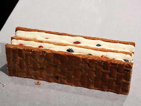 Chantilly Millefeuille with Red Berries - 71