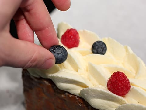 Chantilly Millefeuille with Red Berries - 73