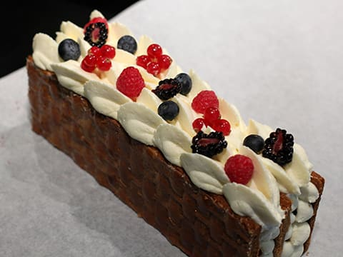 Chantilly Millefeuille with Red Berries - 74