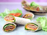 Chicken & Bacon Wraps