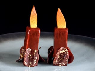 Chocolate Birthday Candles