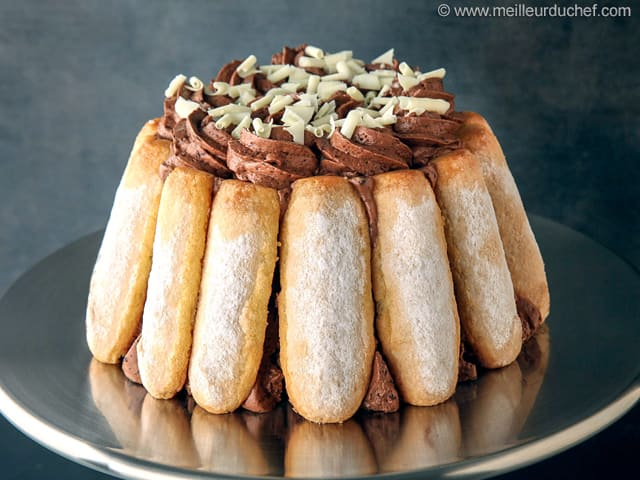 Chocolate Charlotte Recipe With Images Meilleurduchef Com