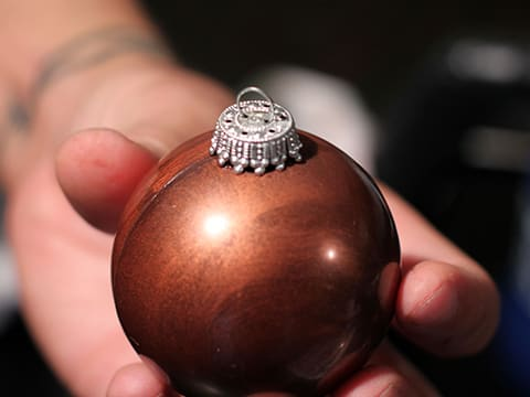 Chocolate Christmas Baubles - 46