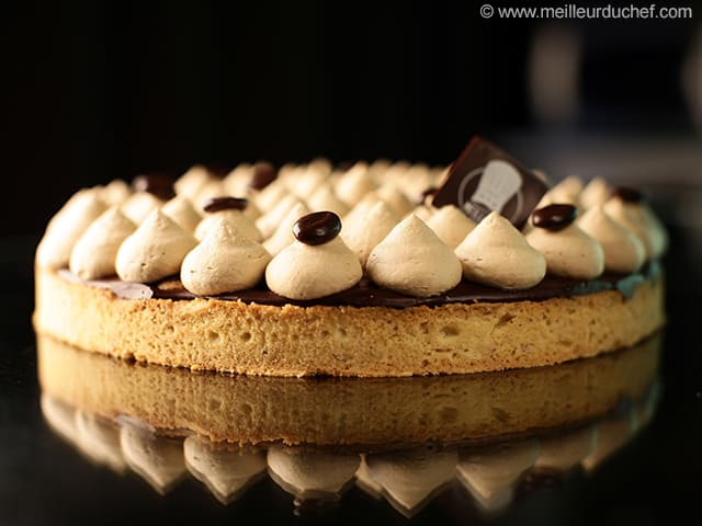 Chocolate & Coffee Tart