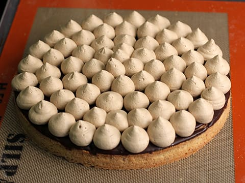 Chocolate & Coffee Tart - 66