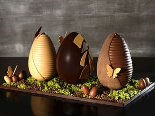 Chocolate Easter Egg Centrepiece