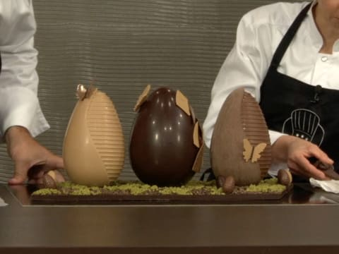 Chocolate Easter Egg Centrepiece - 38