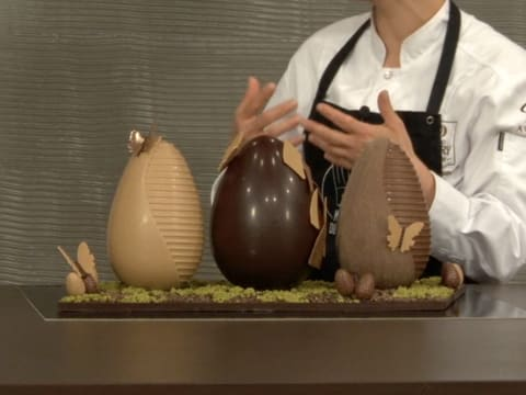 Chocolate Easter Egg Centrepiece - 45