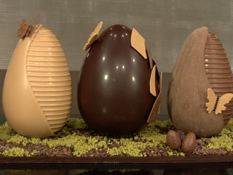 Chocolate Easter Egg Centrepiece - 46