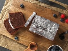 Chocolate & Gianduja Loaf Cake