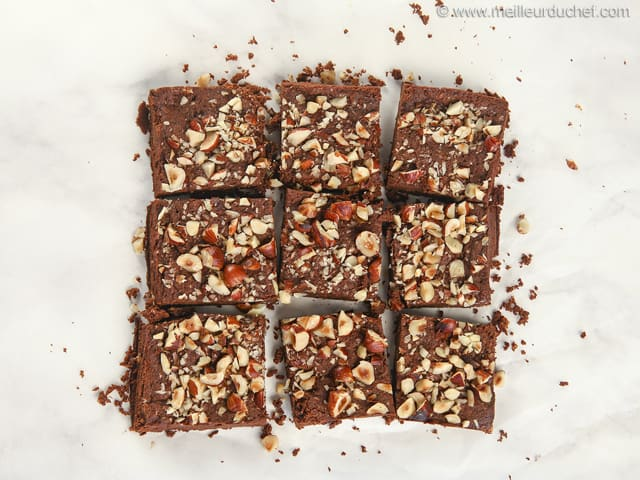 Chocolate & Hazelnut Brownie