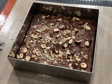 Chocolate & Hazelnut Brownie - 25