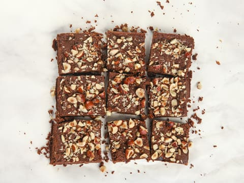 Chocolate & Hazelnut Brownie - 27