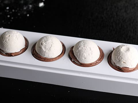 Chocolate & Meringue Balls - 37