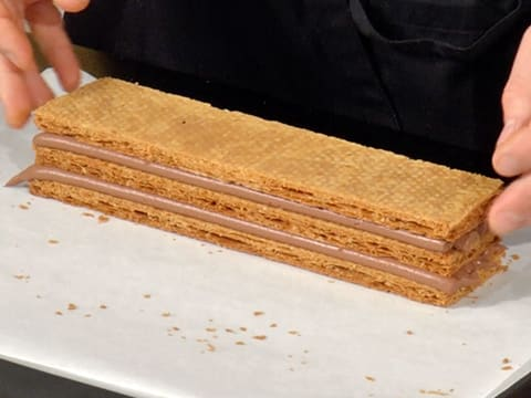 Chocolate Millefeuille - 78